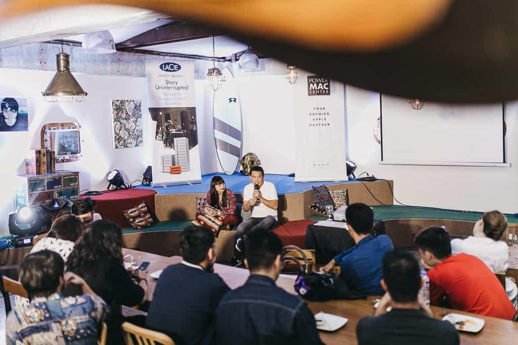 Meet-up of creative minds in Power Mac Center