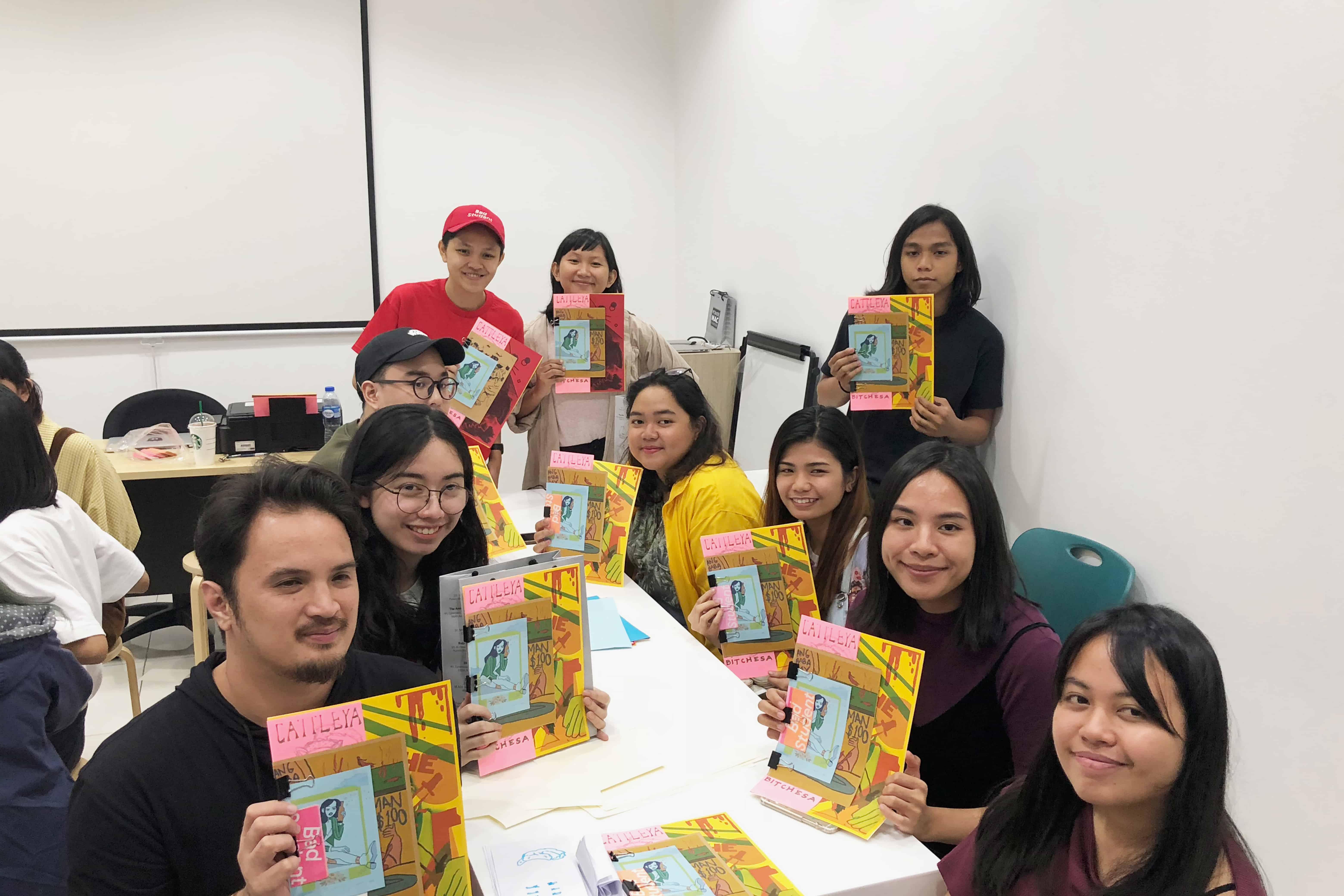 Participants on Pixelworx workshop