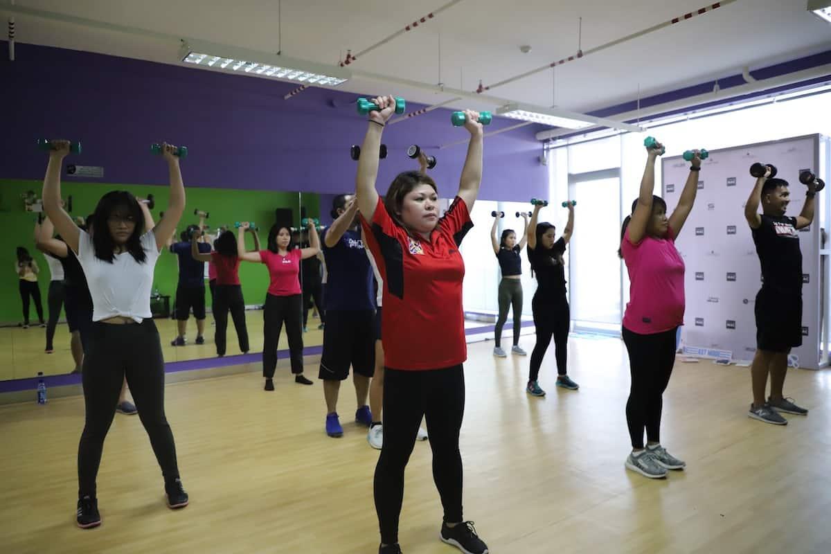 Power Mac Center workout event